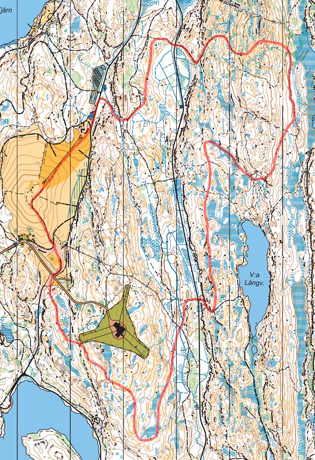 Terrängloppet/trailrunning Skatås X-trail, här är en detaljerad beskrivning av bansträckningen.