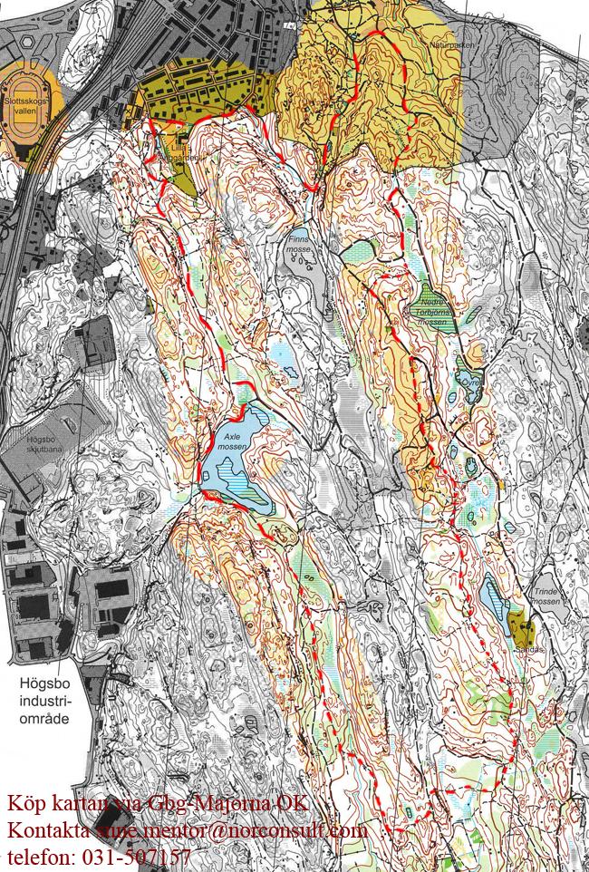 karta änggårdsbergen göteborg Änggårdsbergen, träna trailrunning i Göteb| Skatås ryggar karta änggårdsbergen göteborg