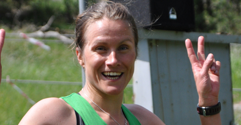 Eva Nyström, Ullevi vinnare i damer 12km på Skatås X-trail 2011