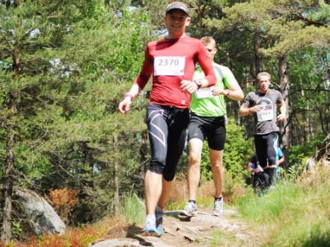 Trail på berghäll