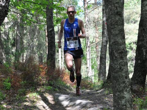 Fredrik Johansson herrar 21km på tiden 85:51