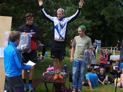 Fredrik Johansson vinnare