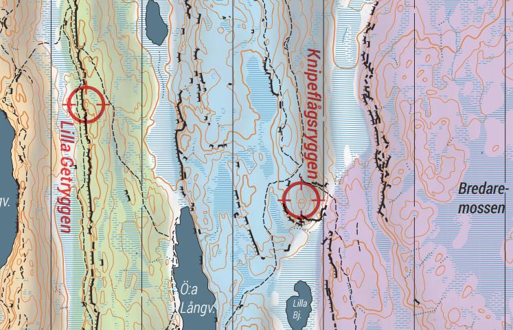 FKT Skatås ryggar kartaklipp